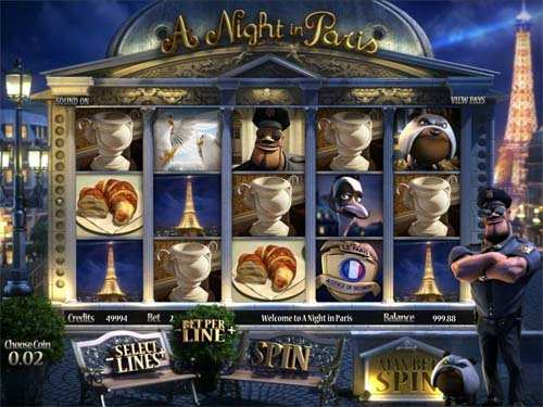 играть в A Night in Paris
